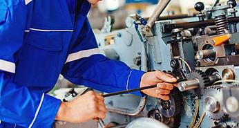 Maintenance machines industrielles