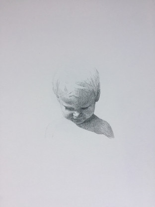 graphite on paper 20x30