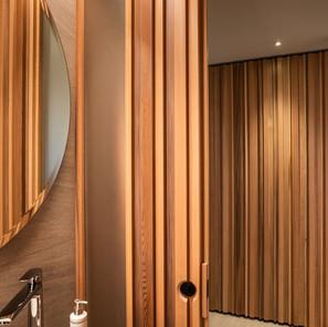vanity woodwork door panels