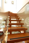Timber staircase design by Bates Joinery