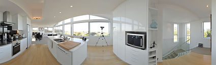 360 virtual tour of custom kitchen
