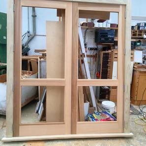 red-cedar-double-door-pine-frame