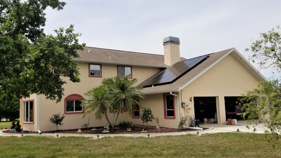6.96 kW Solar Energy System