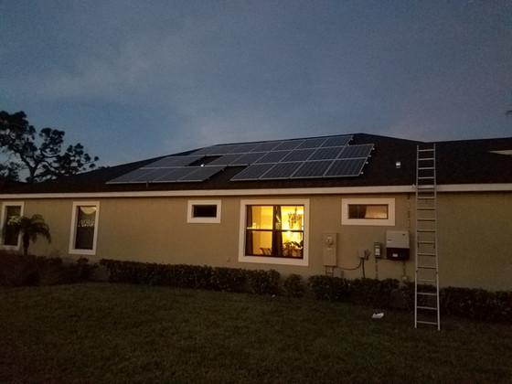 7.475 kW Solar Energy System