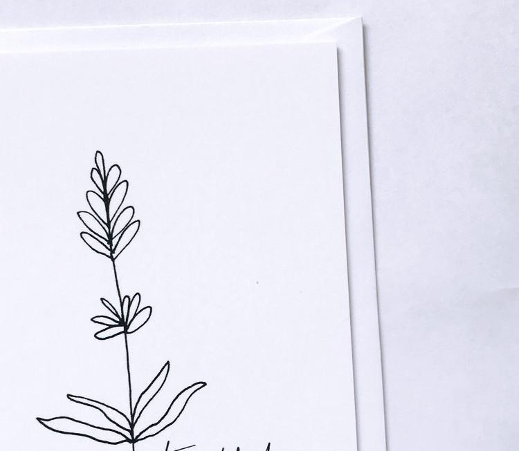 Thankful card