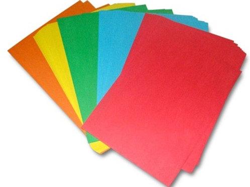 Цветная бумага для офисной техники 5цв. по 20 листов