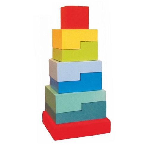 """Пирамидка """"Ступеньки"""", 8 элементов"""