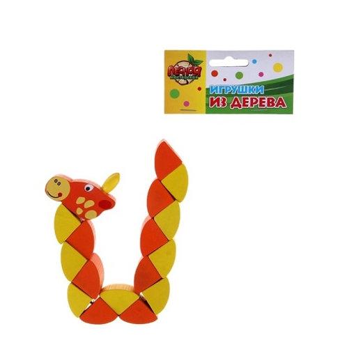"""Головоломка - змейка """"Жирафик"""""""