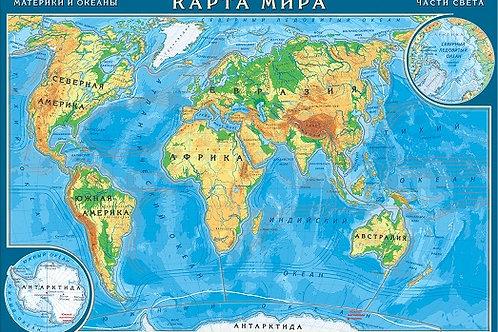 "Географический пазл ""Карта Мира"""