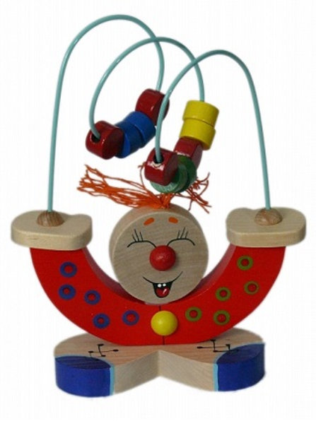 "Деревянная игрушка - серпантинка ""Жонглер"""