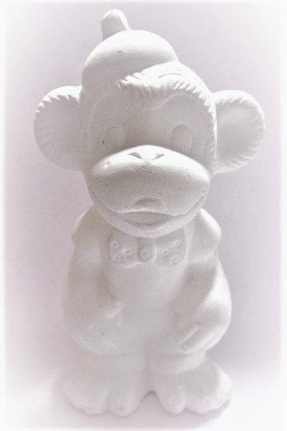Керамическая обезьянка для раскрашивания