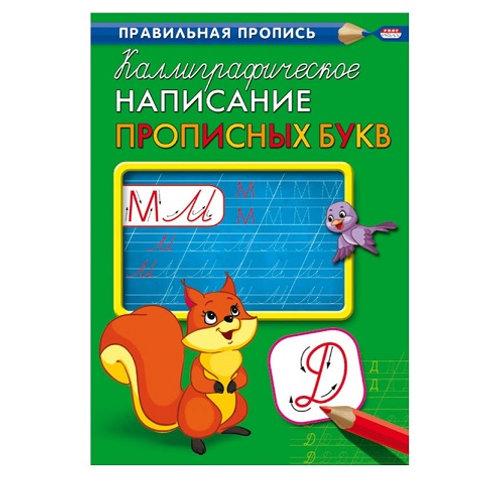 """Прописи """"Каллиграфическое написание прописных букв"""""""