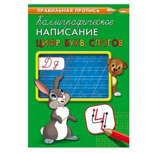 """Прописи """"Каллиграфическое написание цифр, букв и слогов"""