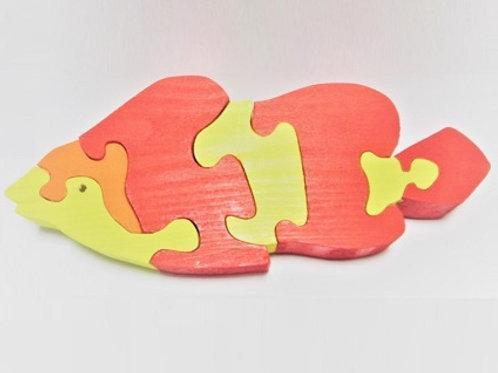"""Деревянная игрушка """"Рыбка Немо"""""""