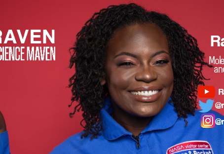 May feature: Raven the science maven!