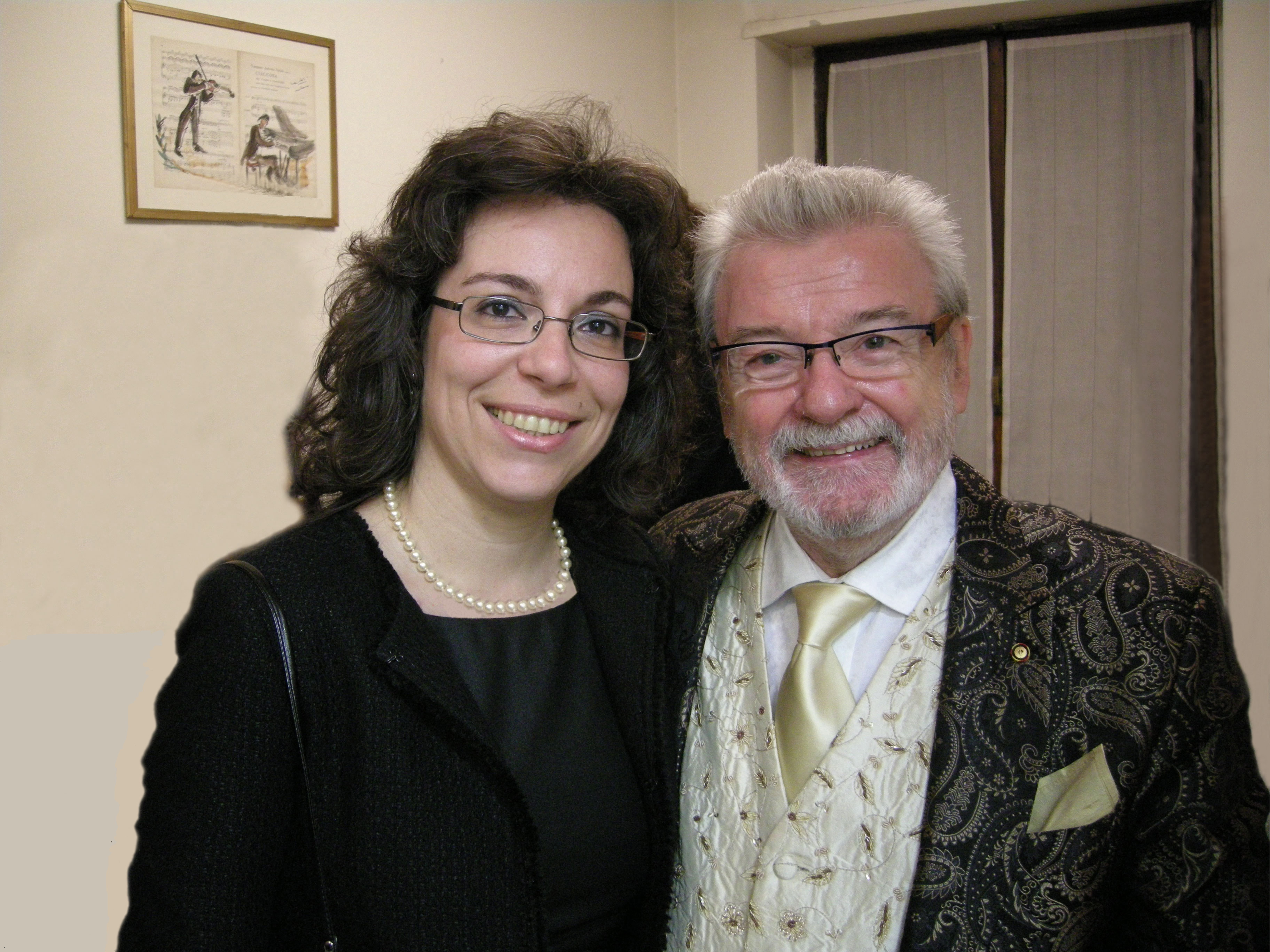 con Sir James Galway