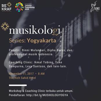 Musikologi Yogyakarta 2017 ( Audio Engineering Seminar )