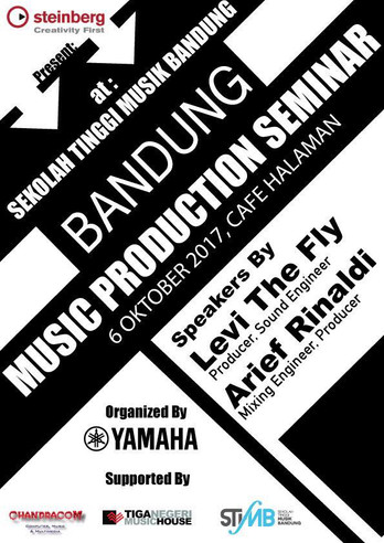Musik Production Seminar ( Sekolah Tinggi Music Bandung ) 2017