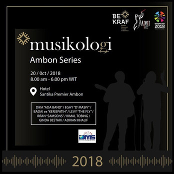 Musikologi Ambon 2018 ( Audio Engineering Seminar )