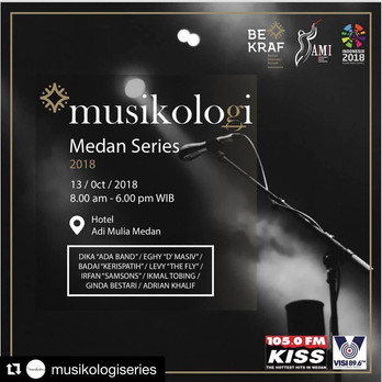 Musikologi Medan 2018 ( Audio Engineering Seminar )