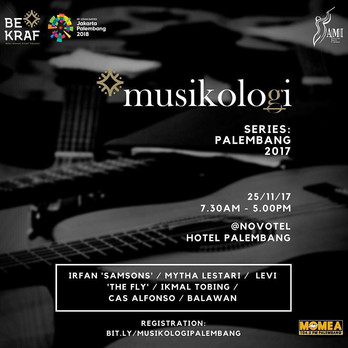 Musikologi Palembang 2017 ( Audio Engineering Seminar )