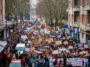 La répression pénale des manifestants