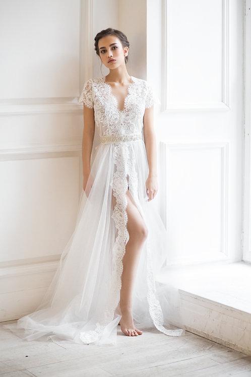 Будуарное платье арт 001Б
