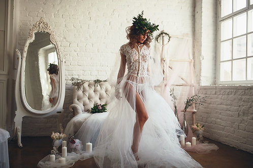 Будуарное платье арт 007Б