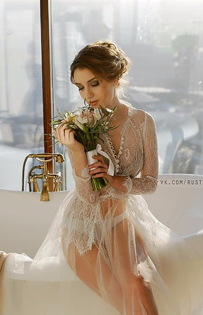 Будуарное платье арт 002Б