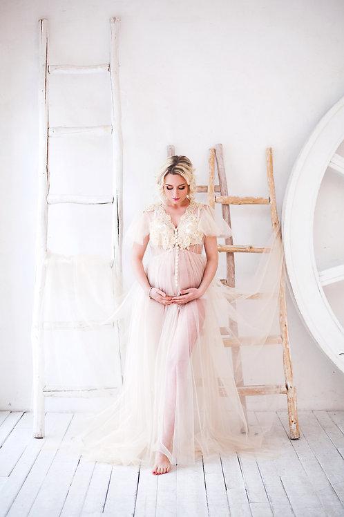 Будуарное платье арт 009Б