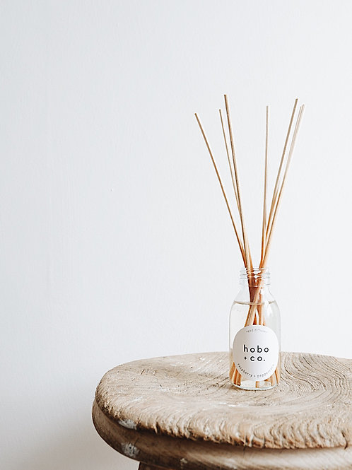 Raspberry + Peppercorn Reed Diffuser