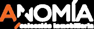 Logo Anomía 2021 blanco