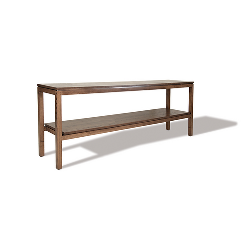Courtyard console table