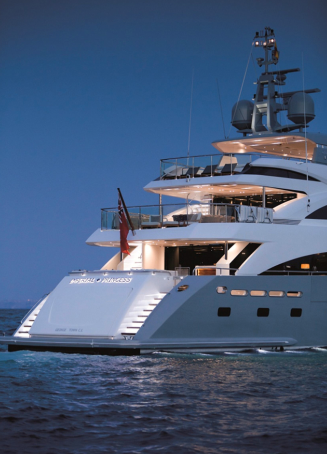 Princess Yachts.