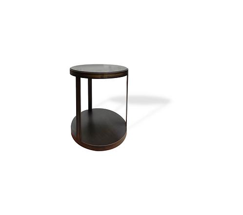 Ellipse round side table