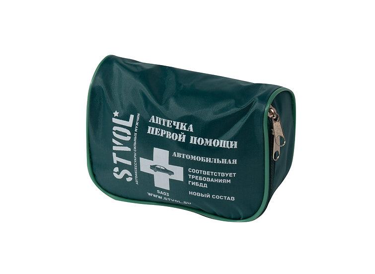 Аптечка автомобильная STVOL, текстильный футляр