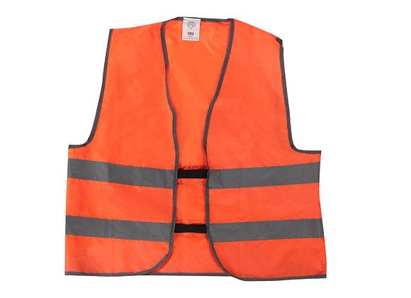 Жилет со светоотражающими полосами STVOL, оранжевый