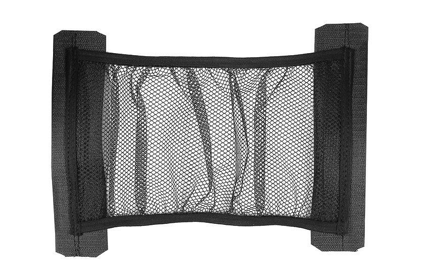 Багажная сетка-карман на липучках STVOL, 15х43 см