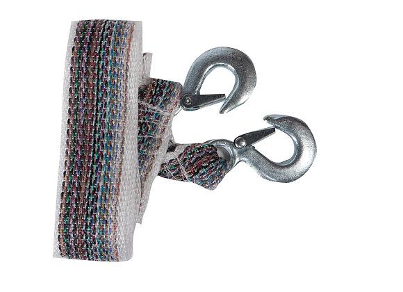 Трос буксировочный STVOL, 7 т., 2 крюка, 4 метра