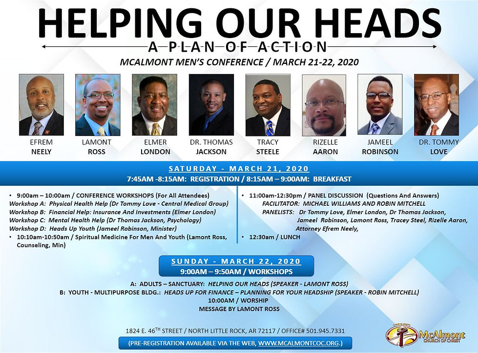 [Page-1] MCALMONT MEN'S CONFERENCE  2020