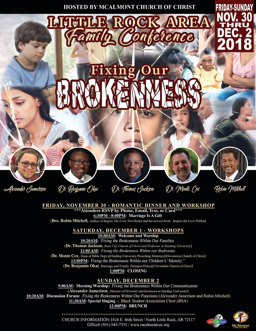 2018 LITTLE ROCK AREA FAMILY CONFERENCE