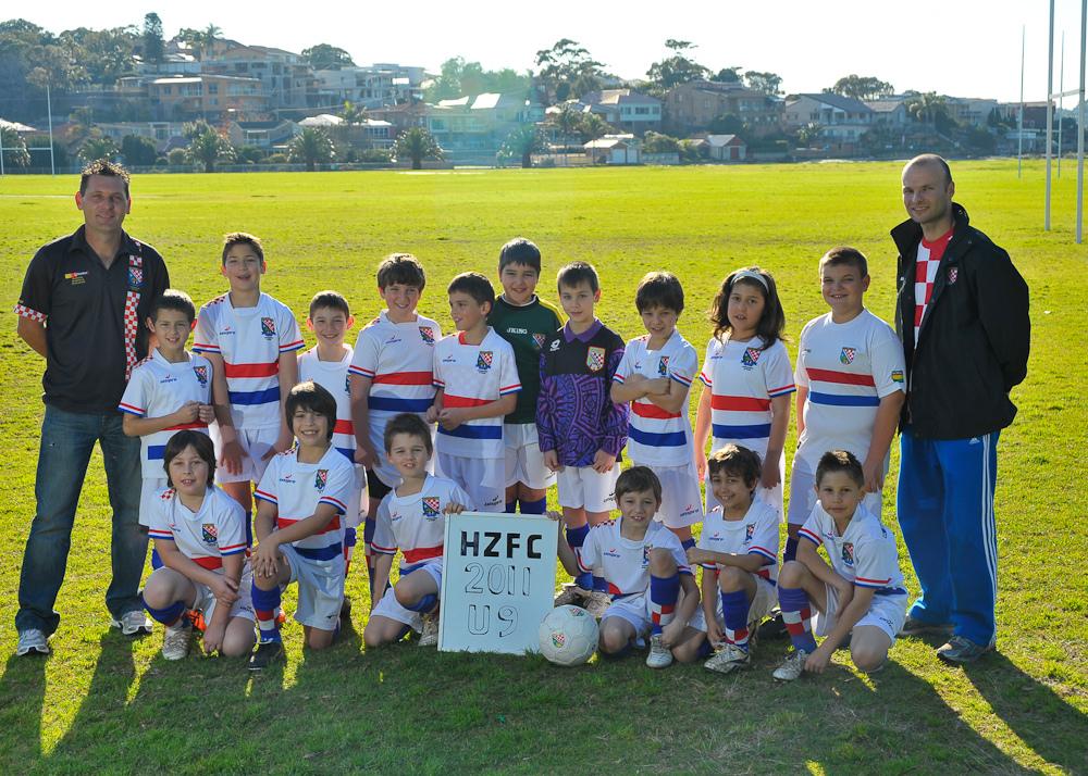 HZFC Under 9's 2011 - Both Teams
