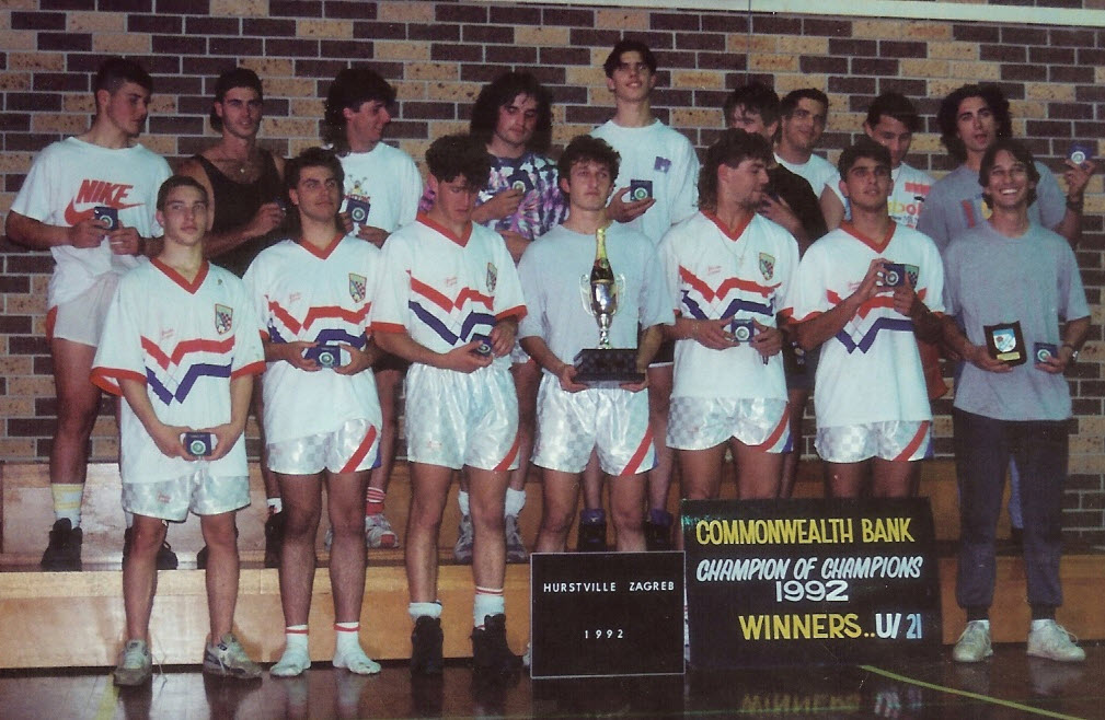 Commonwealth Bank Cup Winners '92