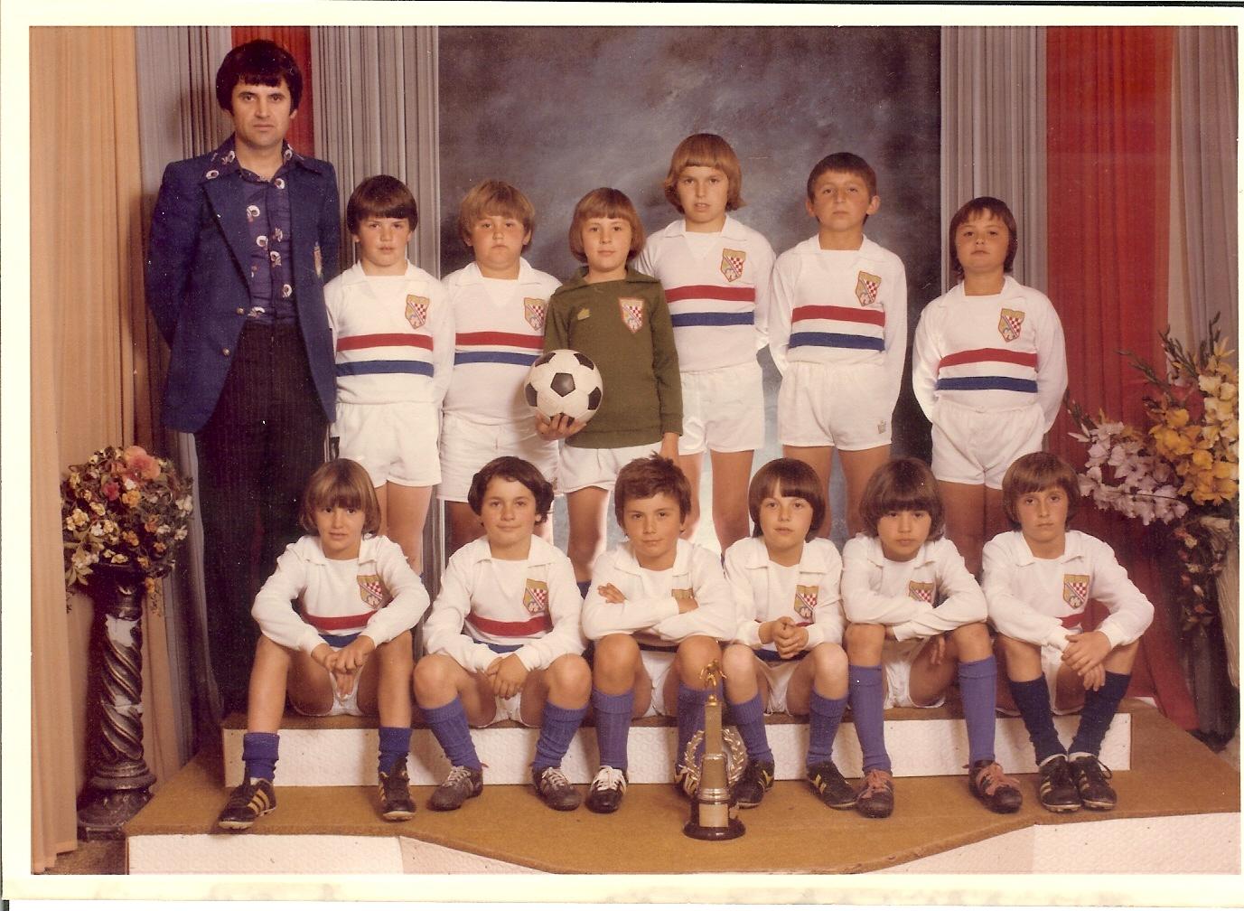HZFC Under 8's 1978