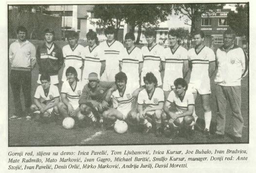 1987 Aus-Cro Tourni @ King Tomislav