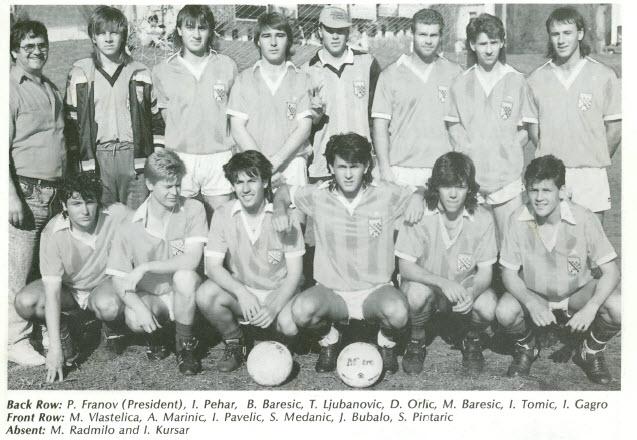 1988 Aus-Cro Tourni @ Canberra