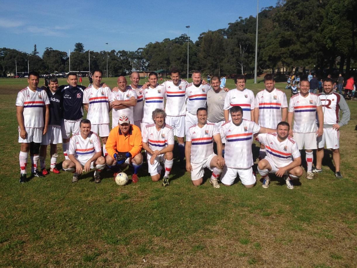 Zagreb Over 35's 2013 - Melbourne