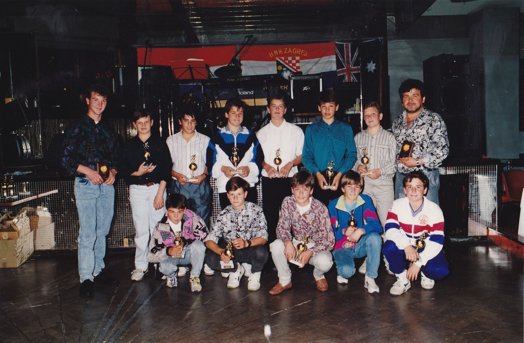 Under 14A's 1991