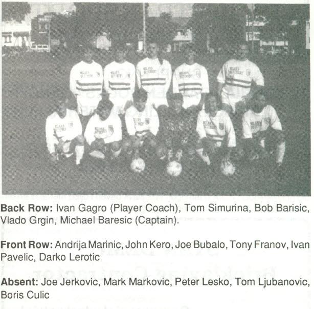 1991 Aus-CroTourni @ North Geelong
