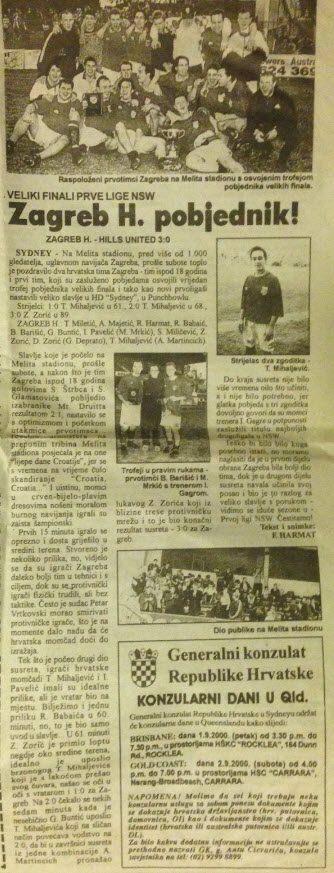 2000 HZFC Champions